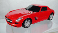 1:24 Mercedes SLS AMG Radio Controlled Rc Red Toy Car For Parts No Remote