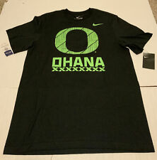 Oregon Ducks Ohana Nike Shirt Black Men's Size: 3XL NWT Rare Tee