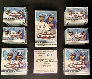 New York Yankees - 2021 Topps Chrome Baseball Hobby & Retail Box Break #30