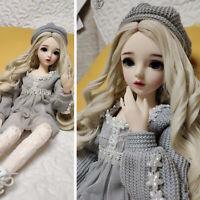 60cm BJD Doll Puppe Mädchen Puppen + Perücken Wechselbare Augen Schuhe Kleidung
