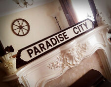 Guns and Roses Inspired Paradise City Street Sign Appetite For Destruction