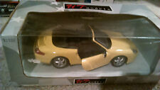 UT 1/18 PORSCHE 911 CABRIO IN YELLOW