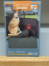 Kurgo Car Door Dog Guard Cover Includes 2 Pet Guards Color Charcoal NIB