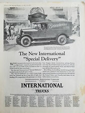 1927 International Harvester Company Trucks Broadway Cleaners Truck Original Ad