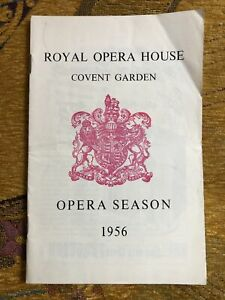 Royal Opera House Programme Magic Flute 1956 - Joan Sutherland as Pamina