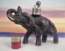 Vintage Strikalite Ltd USA Elephant Trunk Up Table Cigarette Lighter Composition