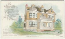 1900s National Lead Company White & Yellow Colored House Paint Design Card