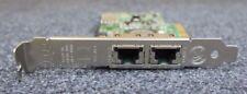 Dell Broadcom NetXtreme II 5709 Dual Port Gigabit Network Card Adapter NIC F169G