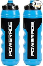 Powerade 32 oz Sports Clutch Water Bottle with Squeeze Cap - (Set of 2)