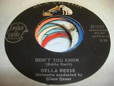 Soul 45 DELLA REESE Don't You Know / Soldier, Won`t You Marry Me? on RCA Victor