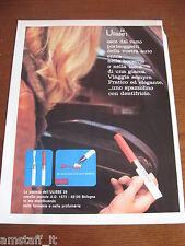*16=ULISSE SPAZZOLINO DENTI=1971=PUBBLICITA'=ADVERTISING=WERBUNG=PUBLICITE=
