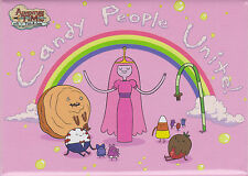Adventure Time with Finn and Jake ~ Candy People Unite! Magnet ~ Licensed