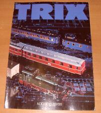 Trix Katalog 87/88 - In German