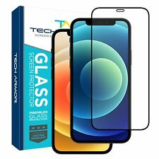 Tech Armor Edge to Edge Glass Screen Protector for iPhone 12/12 Pro 6.1 [1-Pack]