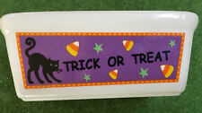Century Halloween Trick Or Treat Mini Loaf Pan Microwave Oven dishwasher Safe