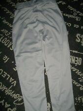 Worn 1X Mens M RAWLINGS Gray BASEBALL Uniform PANTS STRETCH Knit