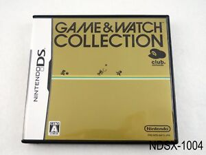 Game & Watch Collection 1 Nintendo DS Japanese Import Club Japan JP US Seller