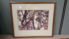 """Thomas Mangelsen """"Wintering Waxwings"""" Signed 14x20 Out of Print 243/950"""