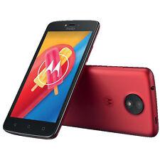 MOTOROLA Moto C Smartphone 16GB 5 Zoll Metallic Cherry LTE Android 7.0 Nougat