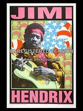 """Jimi Hendrix 16"""" x 12"""" Photo Repro Promo Poster"""