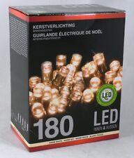 Lichterkette innen und außen 180 LED Weihnachten DEKO Kette Licht Beleuchtung