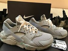 "Nike Air Huarache ID ""Air Mag"" Size 10 Back to the Future Marty Mcfly Custom"