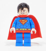 LEGO Super Heroes -  Figur Superman mit Stoffcape rot / sh300 NEUWARE