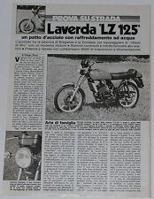 Test Drive Prova 1978 LAVERDA LZ 125