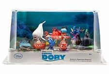 Disney Store Finding Dory Deluxe 9-Pc PVC Figure Play Set Cake Topper Dory Nemo