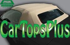 "98-04 C5 Corvette Convertible Top & Heated Glass ""Robbins"" Lt Oak TwillfastCloth"