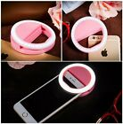 Pink Selfie Ring Light with 36 Light Bulbs, Battery Plug in, Light weight Gift