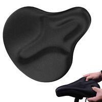 Large Wide Gel Bike Seat Cover Extra Soft Gel Bicycle Seat Bike Saddle Cushion