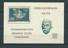 LATIN AMERICA - PARAGUAY - 1963 MI 1167 / BLOC 34 -  TIMBRES NEUFS** MNH LUXE