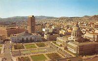 BG21338 san francisco convention center and civic center plaza california   usa