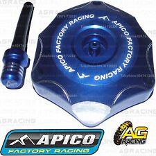 Apico Blue Alloy Fuel Cap Vent Pipe For Kawasaki KX 250F 2014 Motocross Enduro
