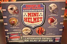 2017 NFL TRISTAR AUTOGRAPH FOOTBALL MINI HELMET BOX LIVE BREAK-1 RANDOM TEAM-589
