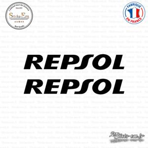 2 Stickers Repsol Decal Aufkleber Pegatinas REP02 Couleurs au choix