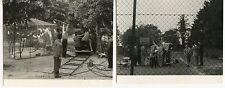 MEURICE PAUL 2 PHOTOGRAPHIES C.1950 ARGENTIQUES 2 VINTAGE ORIGINAL PHOTOGRAPHS