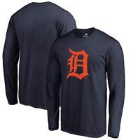 Detroit Tigers D Logo LongSleeve T - Shirt MLB Baseball Verlander Locker Room