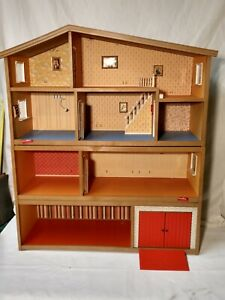 Vintage LUNDBY 4 Levels Doll House & 80+ Accessories MUST SEE!