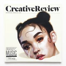CR CREATIVE REVIEW January 2015 The MUSIC Issue: FKA TWIGS Warp Records RARE!