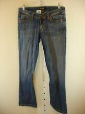Nwt $190 Serfontaine USA Marauder Straight Leg Blue Jeans Cotton Womens 27 X 33