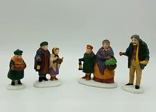 Dept 56 Dickens Village Accessory Carolers on the Doorstep 55700 Retired MIB NOS