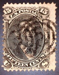 CatalinaStamps: US Stamp #91 Used VG/50, SCV=$150, Lot #A89