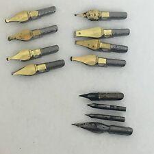 Pen Nibs Hunt Speedball Lettering Ross George Calligraphy Tips - 12
