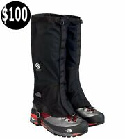 New The North Face GORE-TEX GAITERS Summit Series Hiking Black Sz S,M,L, $100