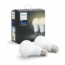 1x2 Philips Hue LED Lampe E27 9 5w (60w) Warmweiß 800lm 8718696729113