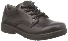 Ricosta Harry Boys Black Leather Med & Wide School Shoe - 100% Positive Reviews