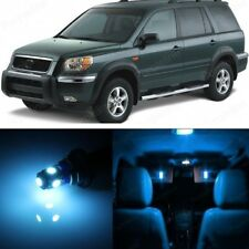 18 x Ice Blue LED Lights Interior Package For Honda PILOT 2006 - 2008 + Pry TOOL