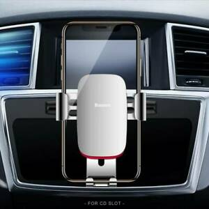 Baseus Gravity Car Phone Holder Universal in CD Slot Car Holder For Mobile Phone